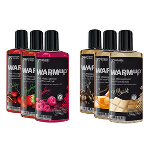 Massage Oil WarmUp Масажно олио WarmUp аромат и вкус