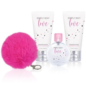Pheromone gift set Simply Sexy Love Феромонен комплект Simply Sexy Love