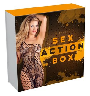 Sex Action Box, 8 pieces Комплект Sex Action, 8 части