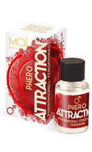 Men pheromones Attraction, concentre Феромони за мъже Attraction, концентрат