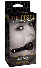 Ball gag Fetish Fantasy Gold Наустник с топка Fetish Fantasy Gold
