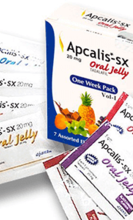 Apcalis SX Oral Jelly /  Гел – 7 пакета